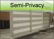semi privacy pvc
